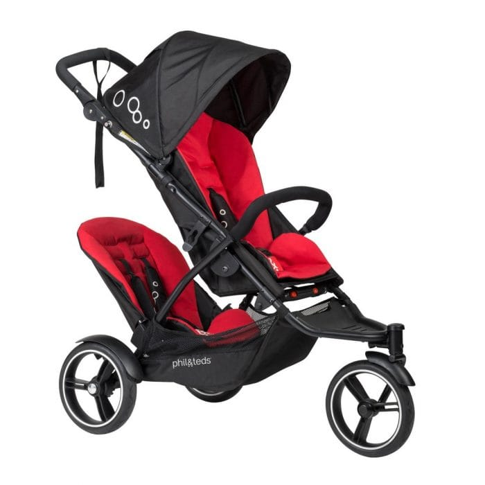 Phil & Teds Dot v3 Pushchair + Double Kit