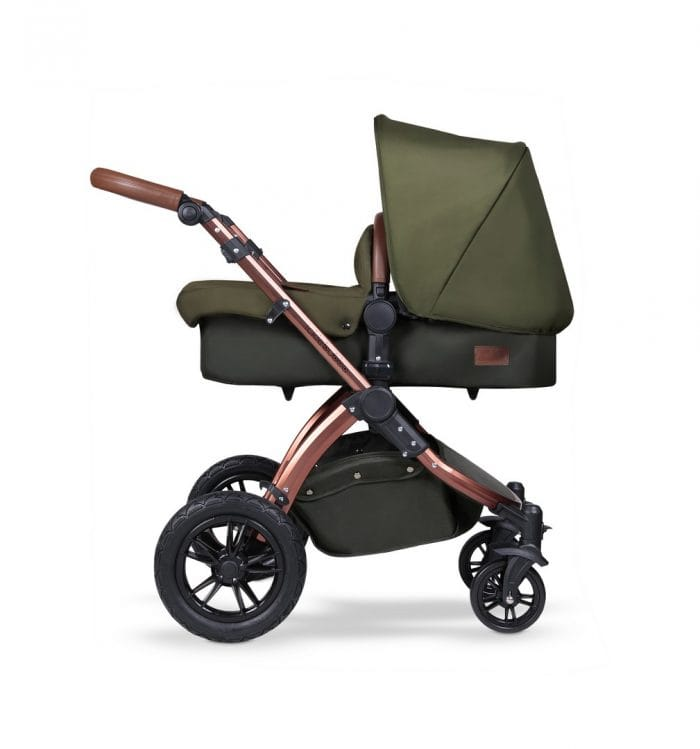Ickle Bubba Stomp v4 Travel System with ISOfix Base