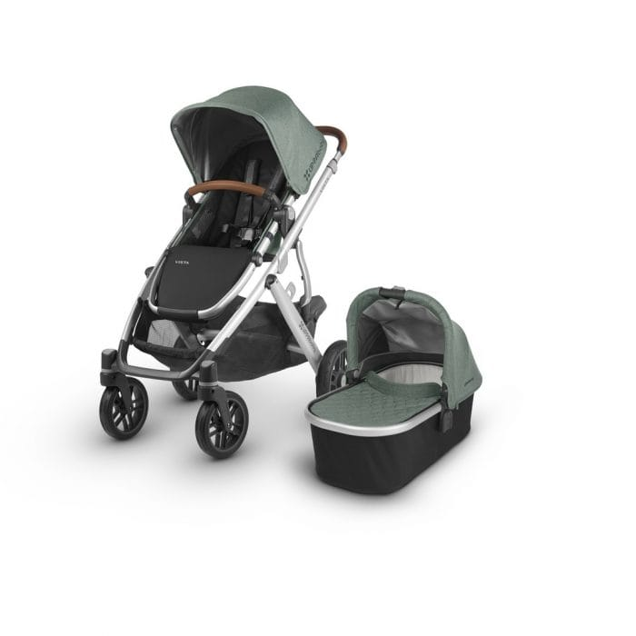UPPAbaby Vista 2018 Pushchair and Carrycot - Loic White