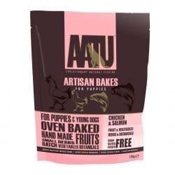 AATU Artisan Bakes Puppy Treats - Chicken & Salmon - 150g