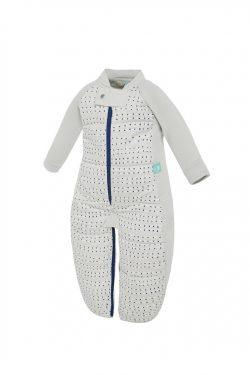 ErgoPouch Winter Baby Sleep Suit Bag 3.5 Tog Blue Dot