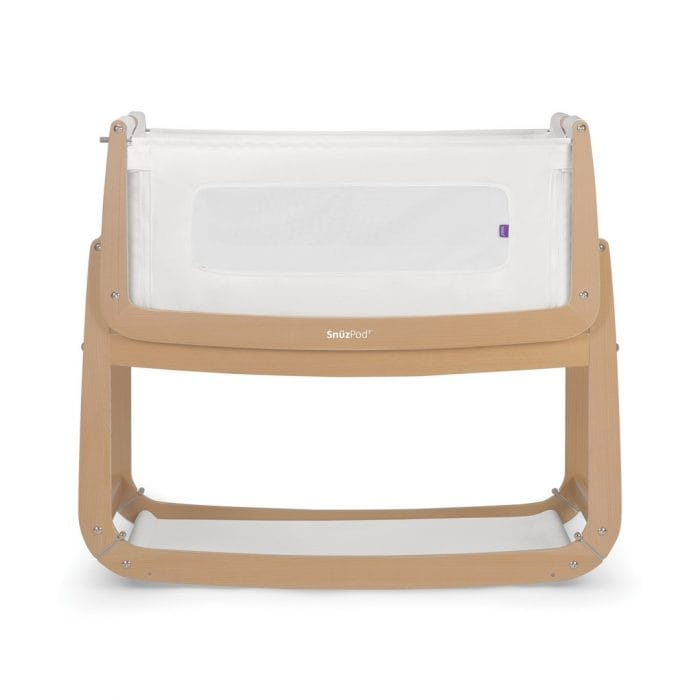 Snuz Pod 3 in 1 Bedside Crib - Natural
