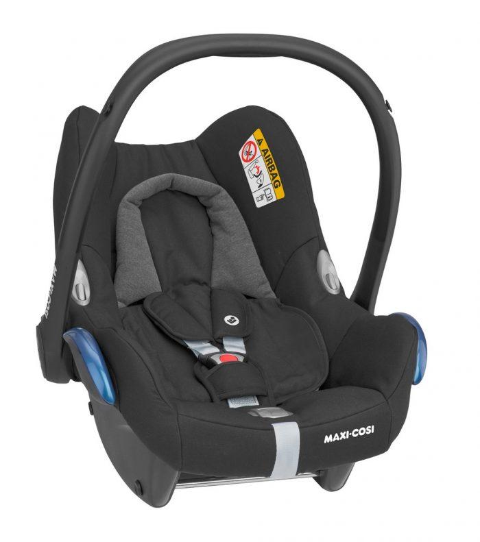 Maxi Cosi Cabriofix Car Seat - Essential Black