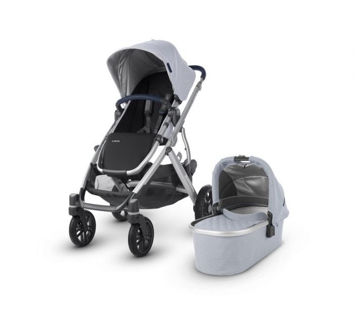 Everything you need for a baby - Vista 2019 Pushchair - William Chambray Oxford