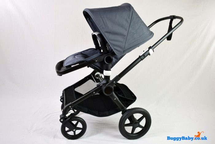 Bugaboo Fox Pushchair Aluminium Chassis - Steel Blue