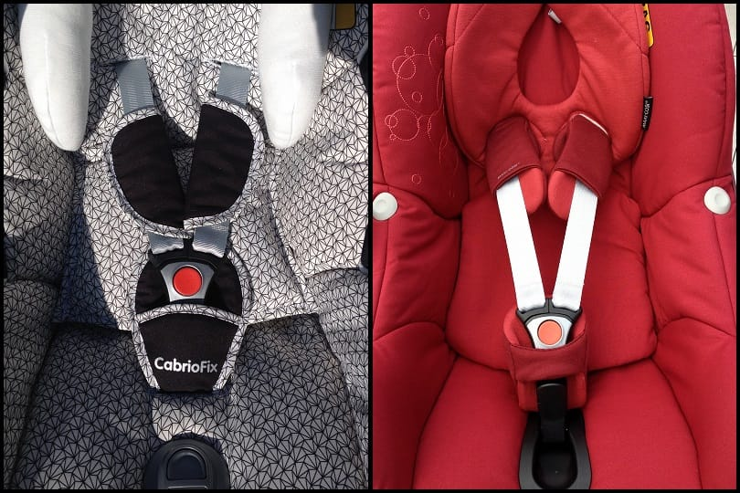 Maxi Cosi Pebble and CabrioFix Harness