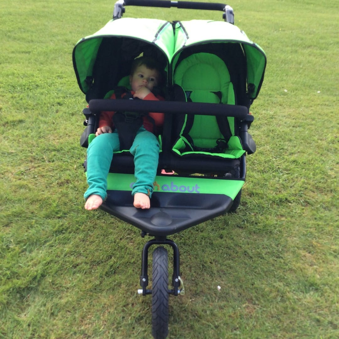 Out n About Nipper V4 Double with seat liners