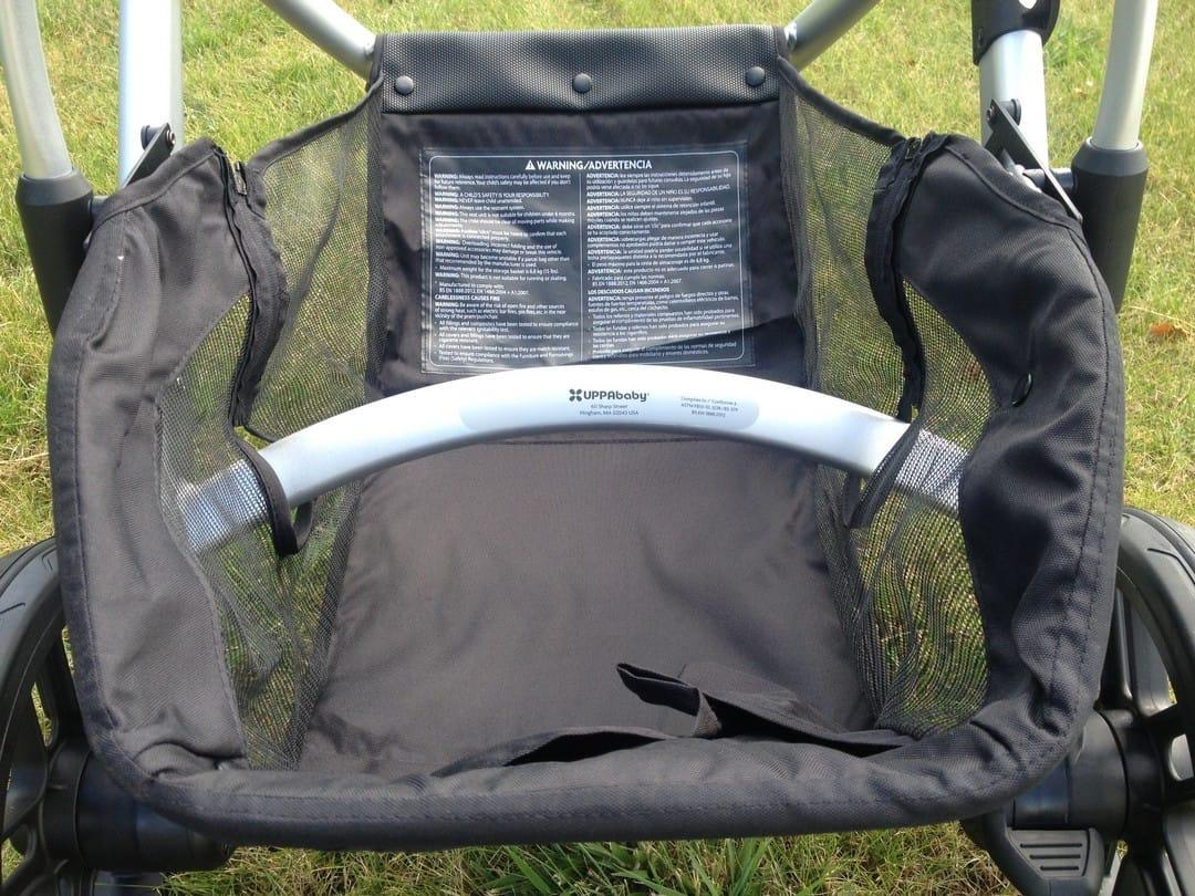 UPPAbaby Vista Seat Unit Storage