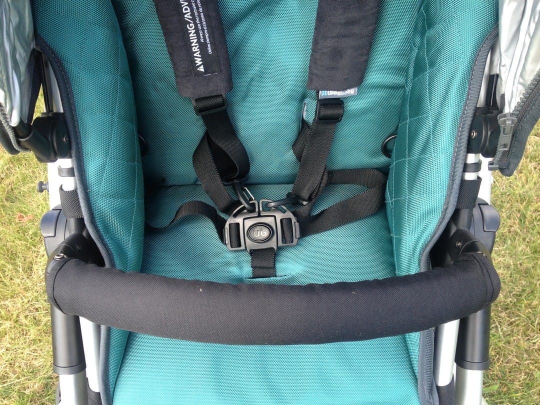 UPPAbaby Vista Seat Unit and BellyBar