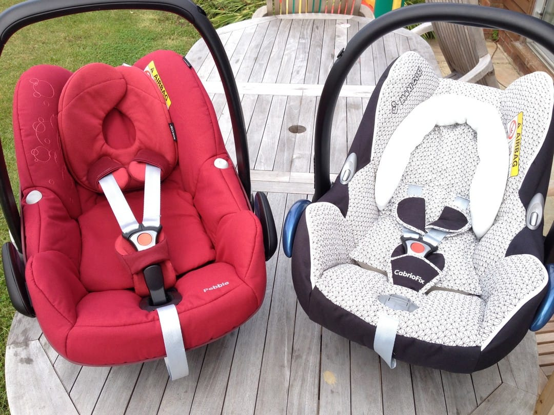 Maxi-Cosi Pebble vs CabrioFix