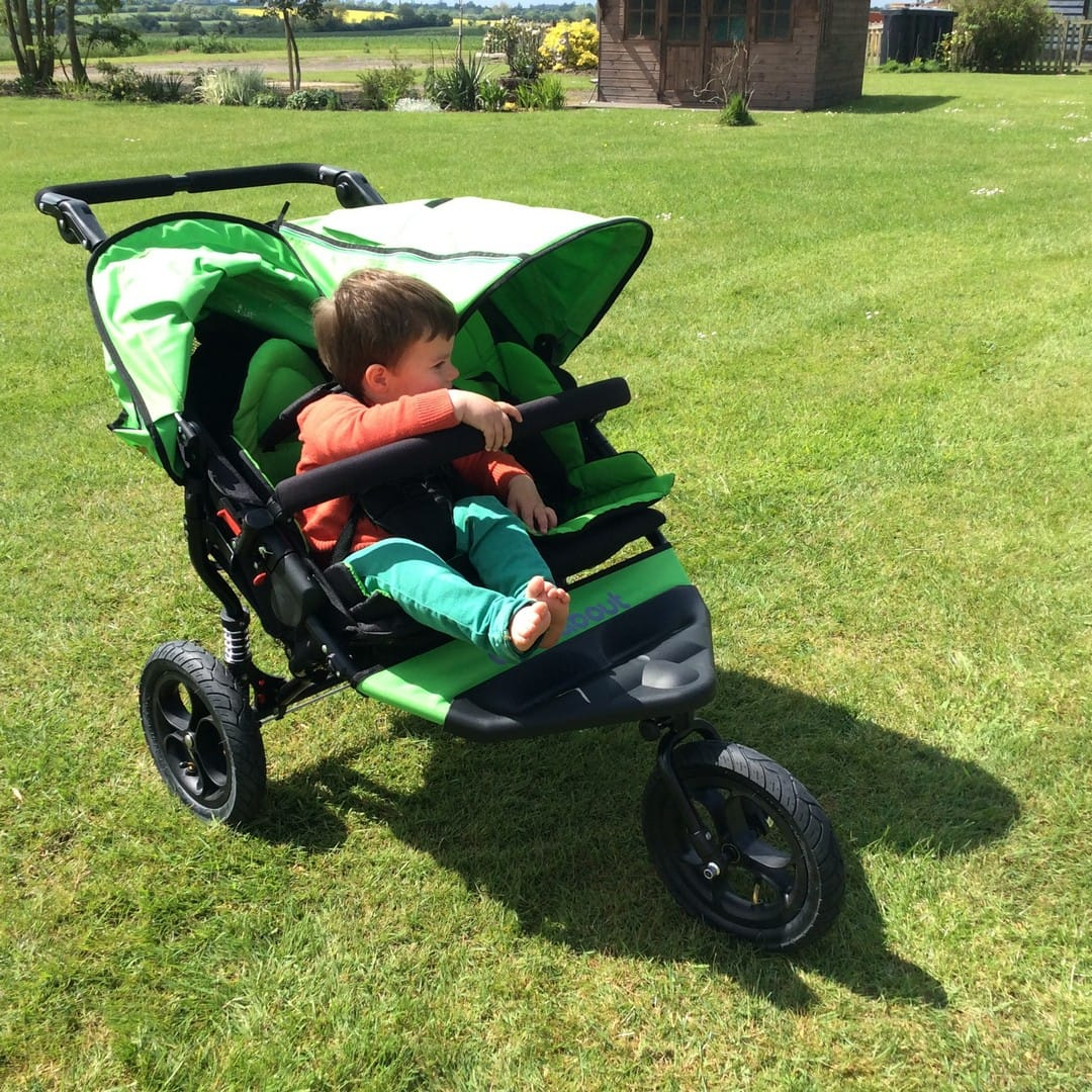 Out n About Nipper Double - Two Toddlers + All Terrain