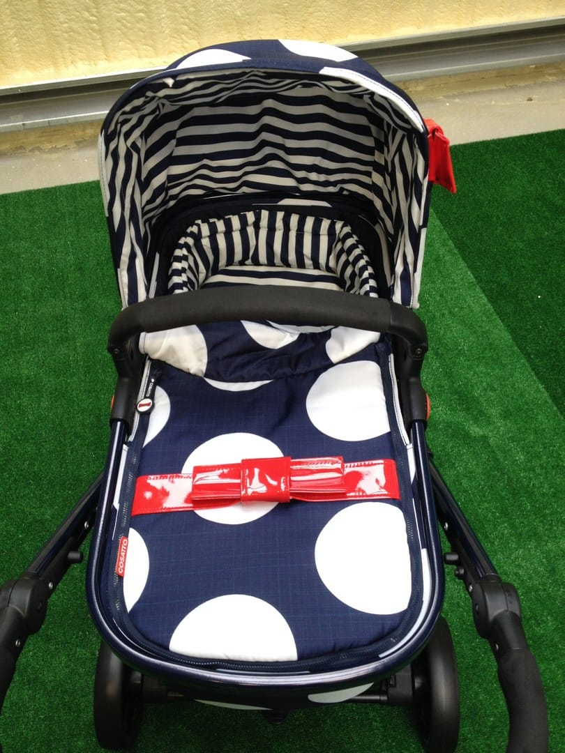 Parent's view of the Giggle 2 with carrycot