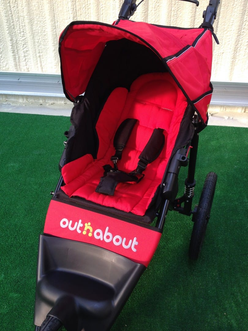 Out n About Nipper Sport V4 Seat with Liner