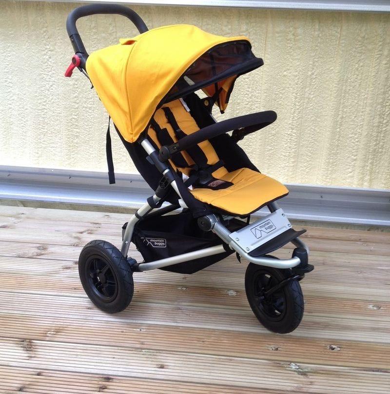 Mountain Buggy Swift - Toddler + All Terrain