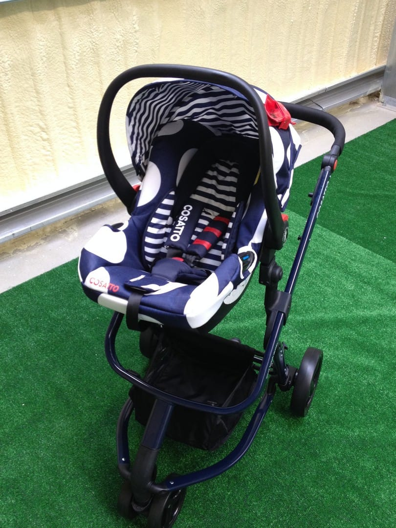 The Cosatto Giggle 2 with Hold car seat