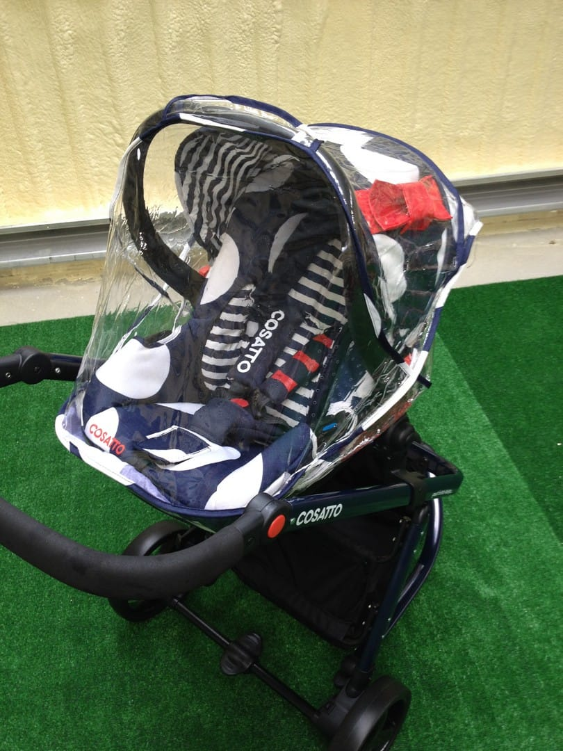 The Cosatto Giggle 2 with Hold car seat and raincover