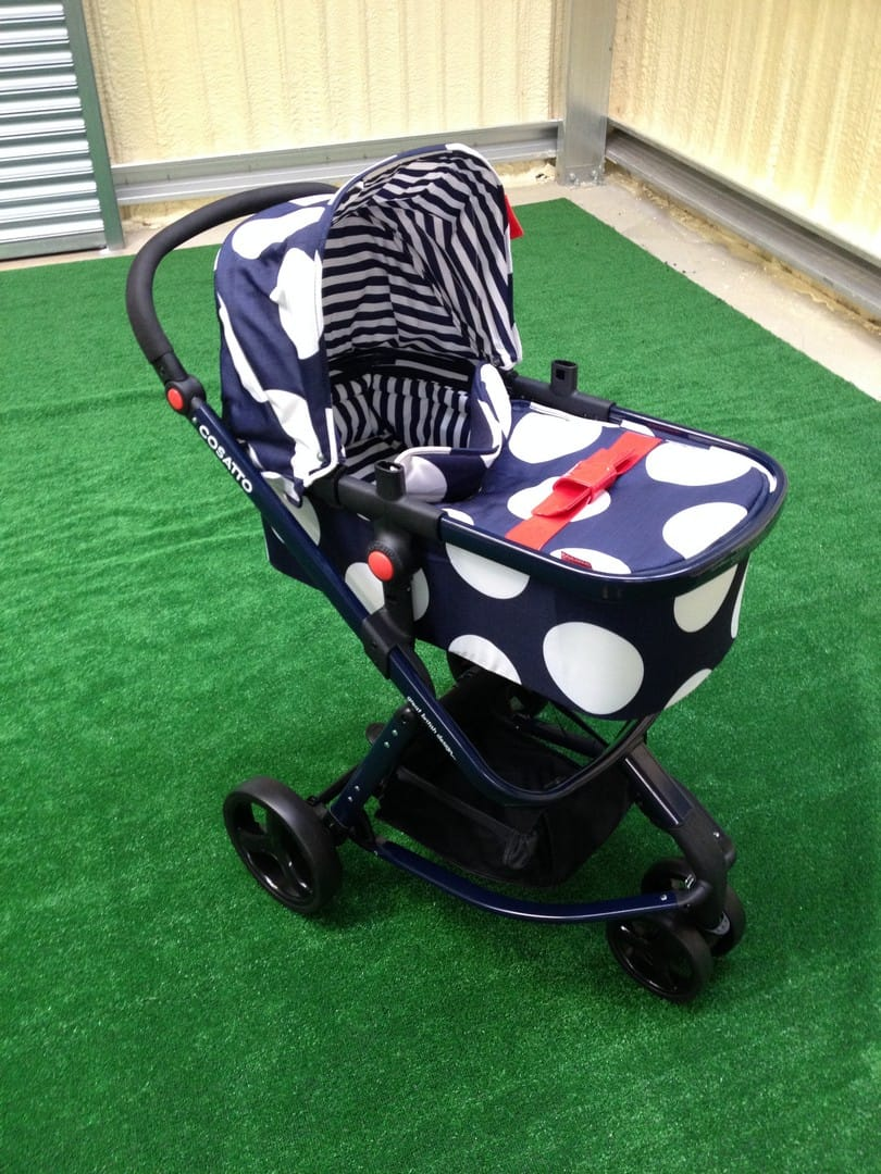 The Cosatto Giggle 2 with carrycot