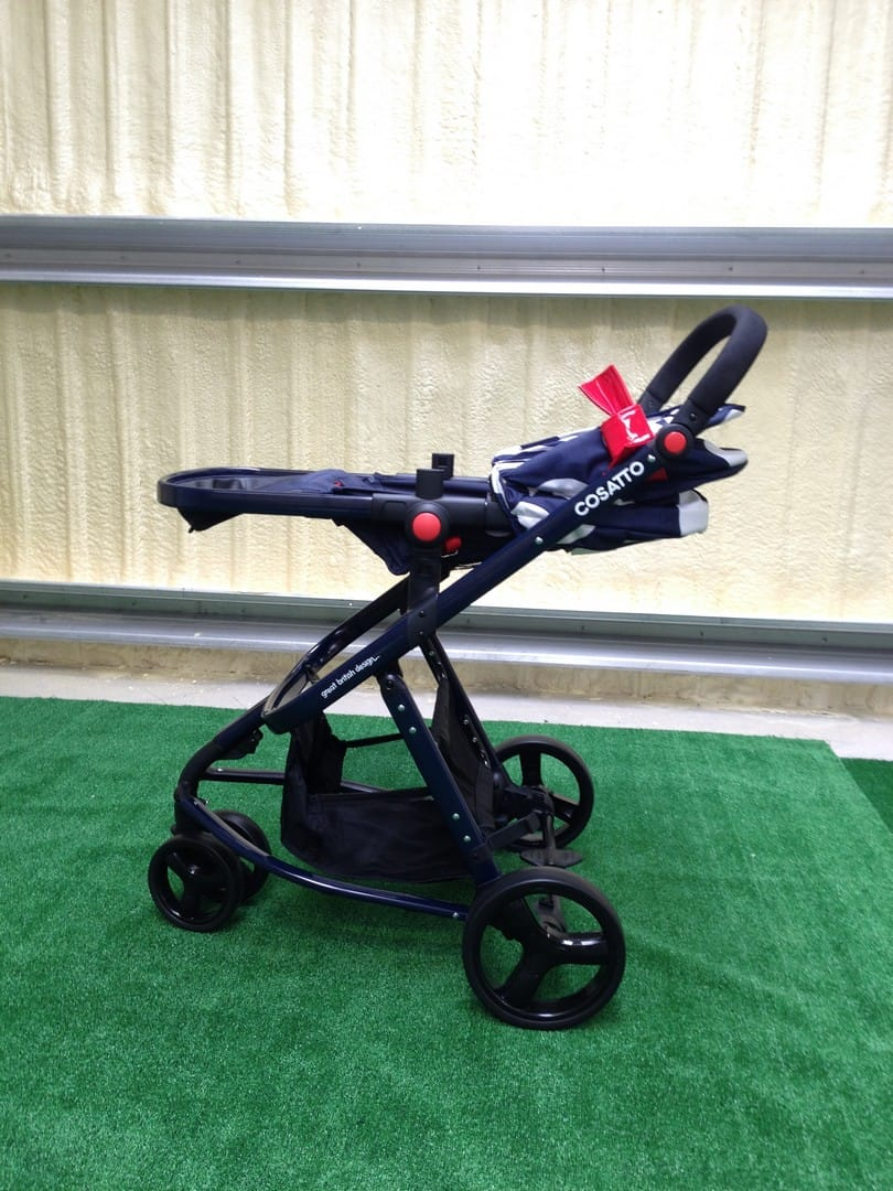 The Cosatto Giggle 2 Pushchair reclined