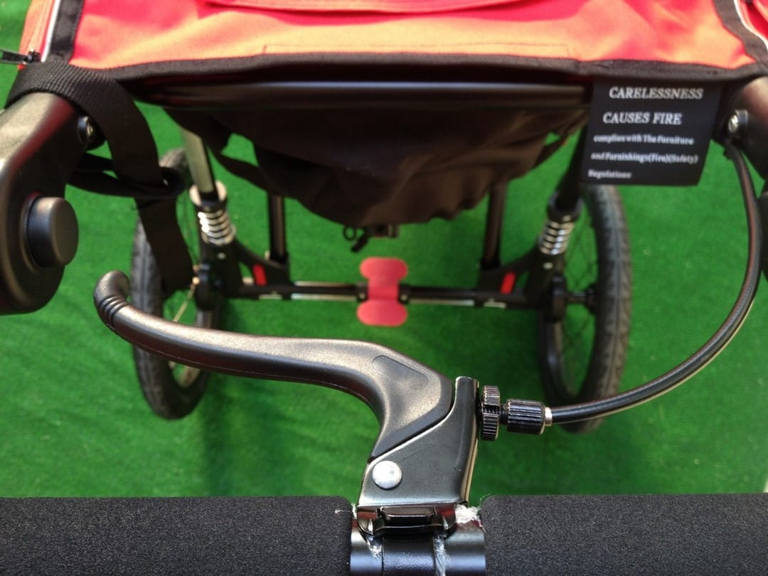 Out n About Nipper Sport V4 Hand Brake and Foot brake
