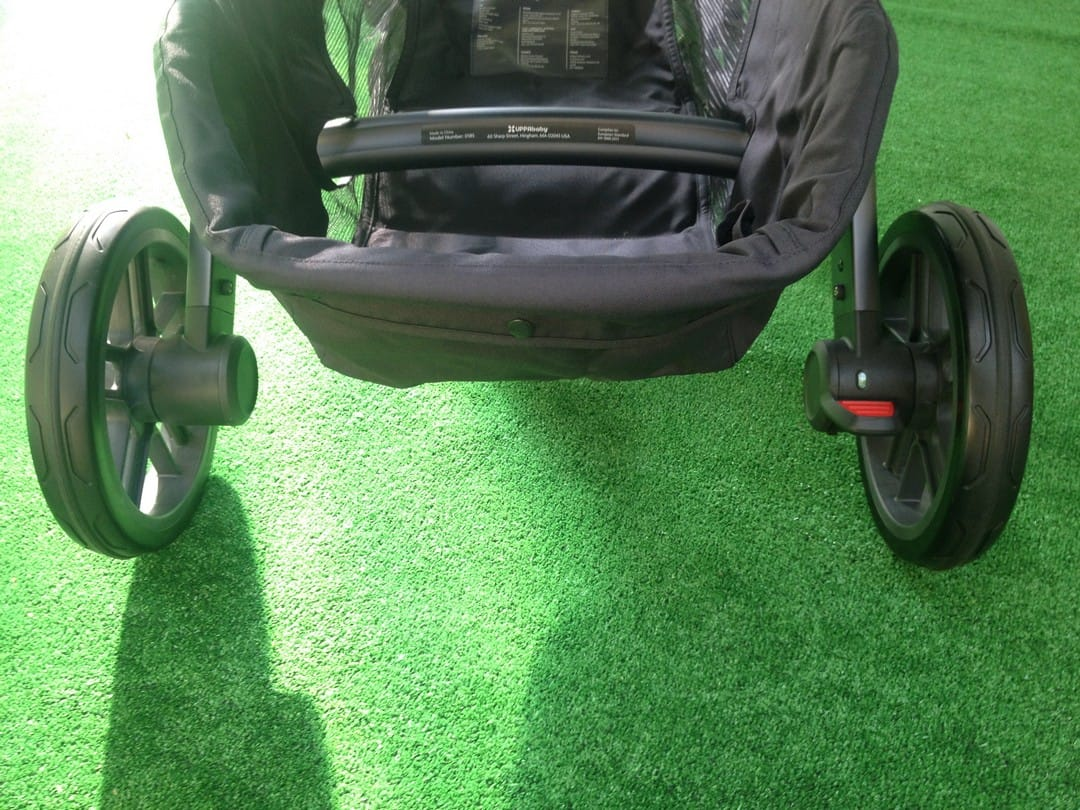 UPPAbaby Vista 2015 with Brake Off
