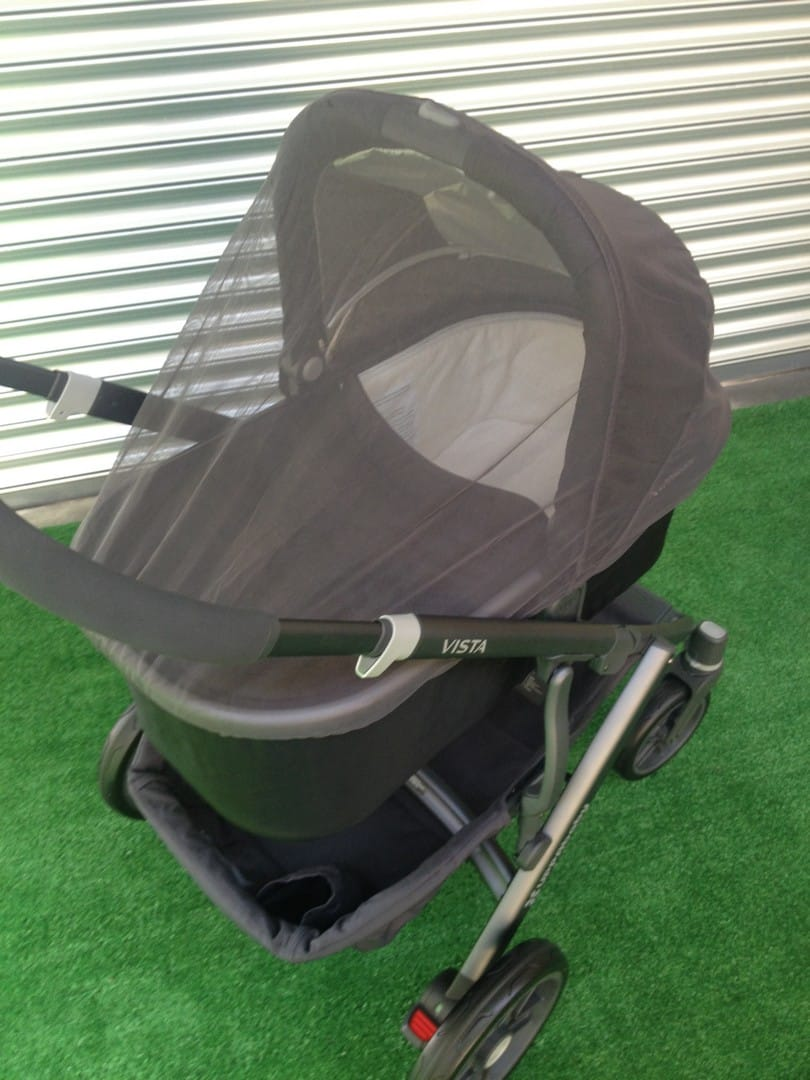 UPPAbaby Vista 2015 Bassinet with Shields
