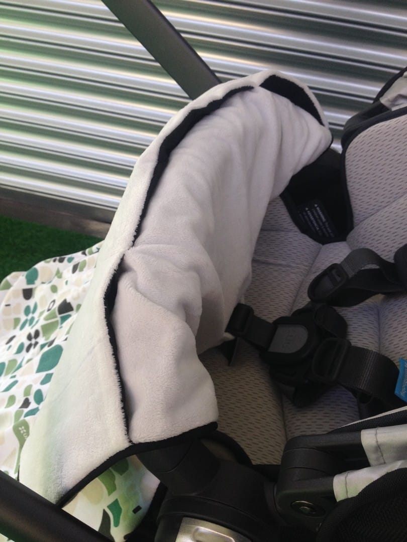 UPPAbaby Vista 2015 Seat Unit with Snug Seat and Stroller Blankie
