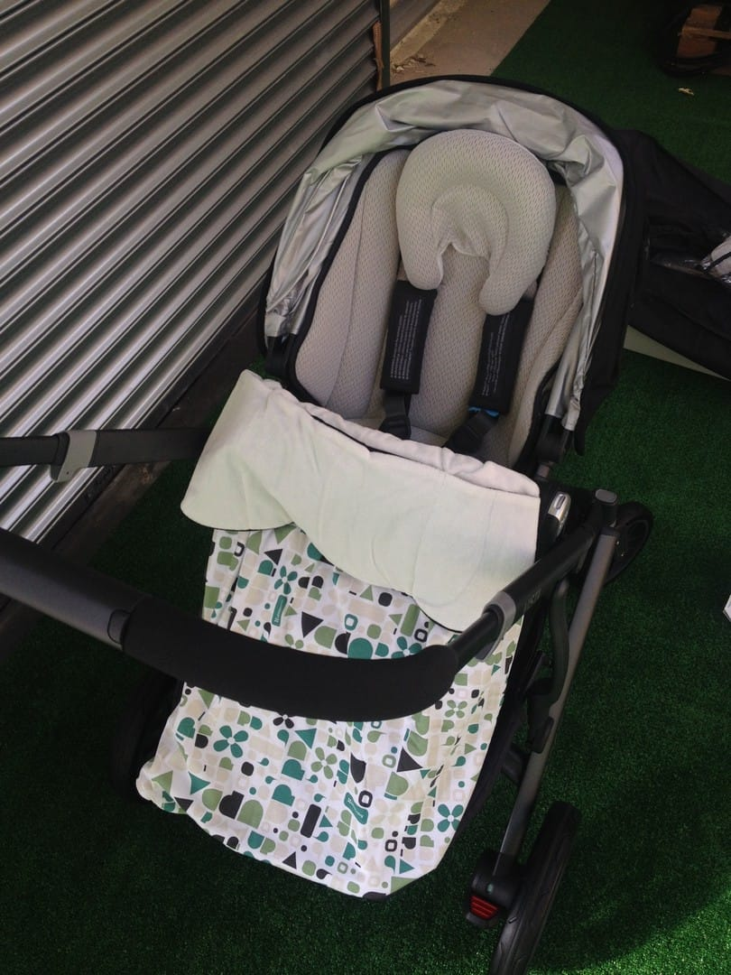 UPPAbaby Vista 2015 Seat Unit with Stroller Blankie