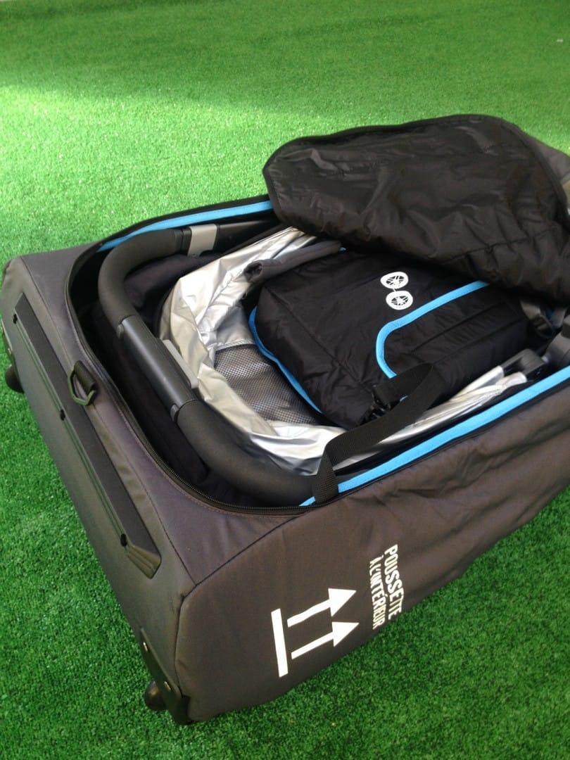 UPPAbaby Vista 2015 in Travel Bag