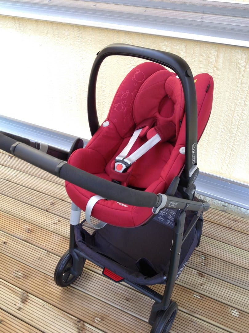 UPPAbaby Cruz 2015 with Maxi-Cosi Pebble Car Seat
