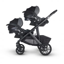 UPPAbaby Vista 2015 with two Car Seats