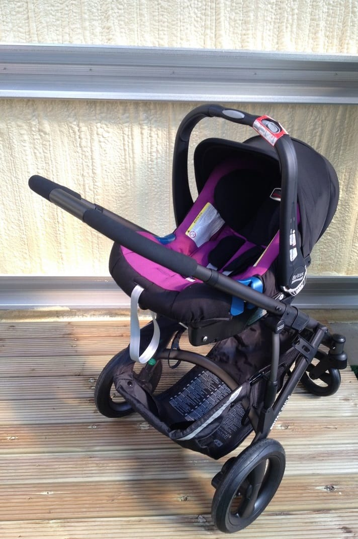 Britax Smile with Baby-Safe Plus SHR II Car Seat