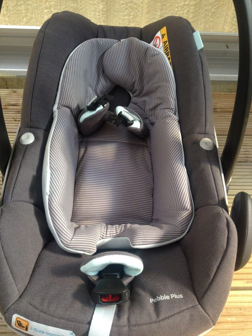Maxi-Cosi Pebble Plus Car Seat Stay Open Harness