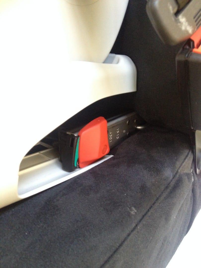 Britax Advansafix Car Seat: ISOfix Installation
