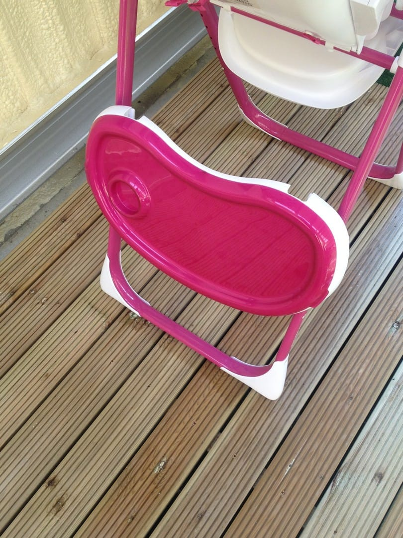 Cosatto Noodle Supa Highchair Food Tray stored away