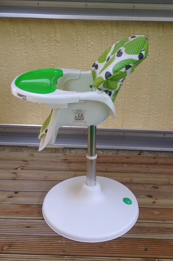 Cosatto 3Sixti Highchair Reclined