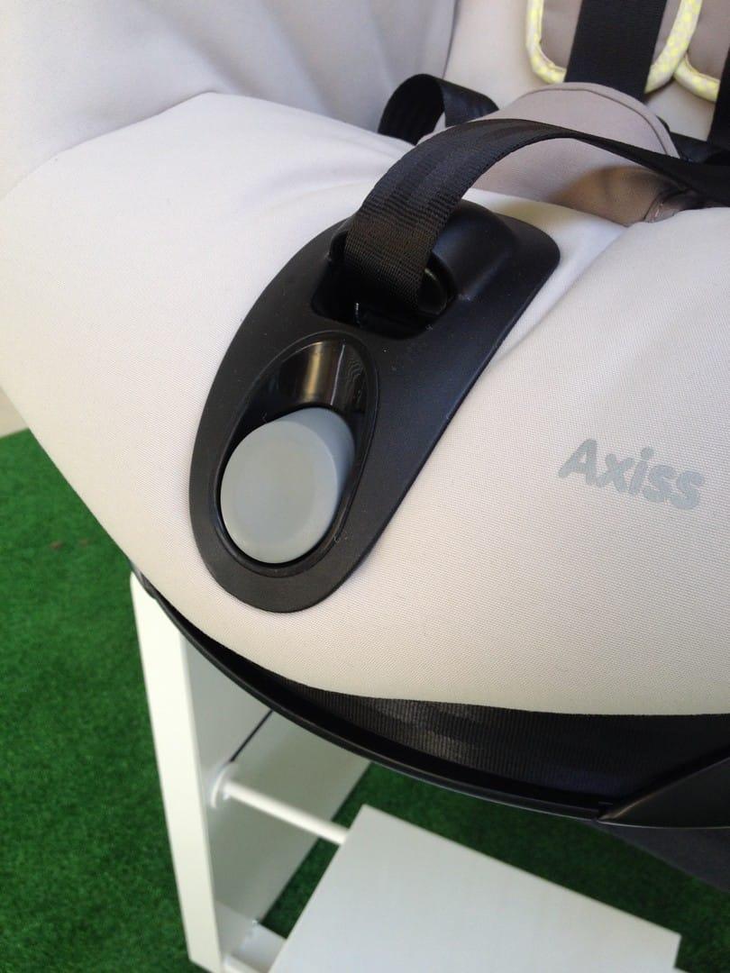Maxi-Cosi Axiss Car Seat Button To Recline