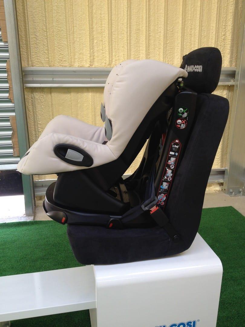 Maxi-Cosi Axiss Car Seat Reclined