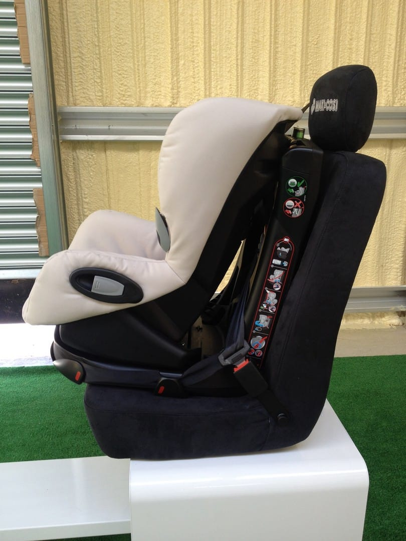 Maxi-Cosi Axiss Car Seat Fitted