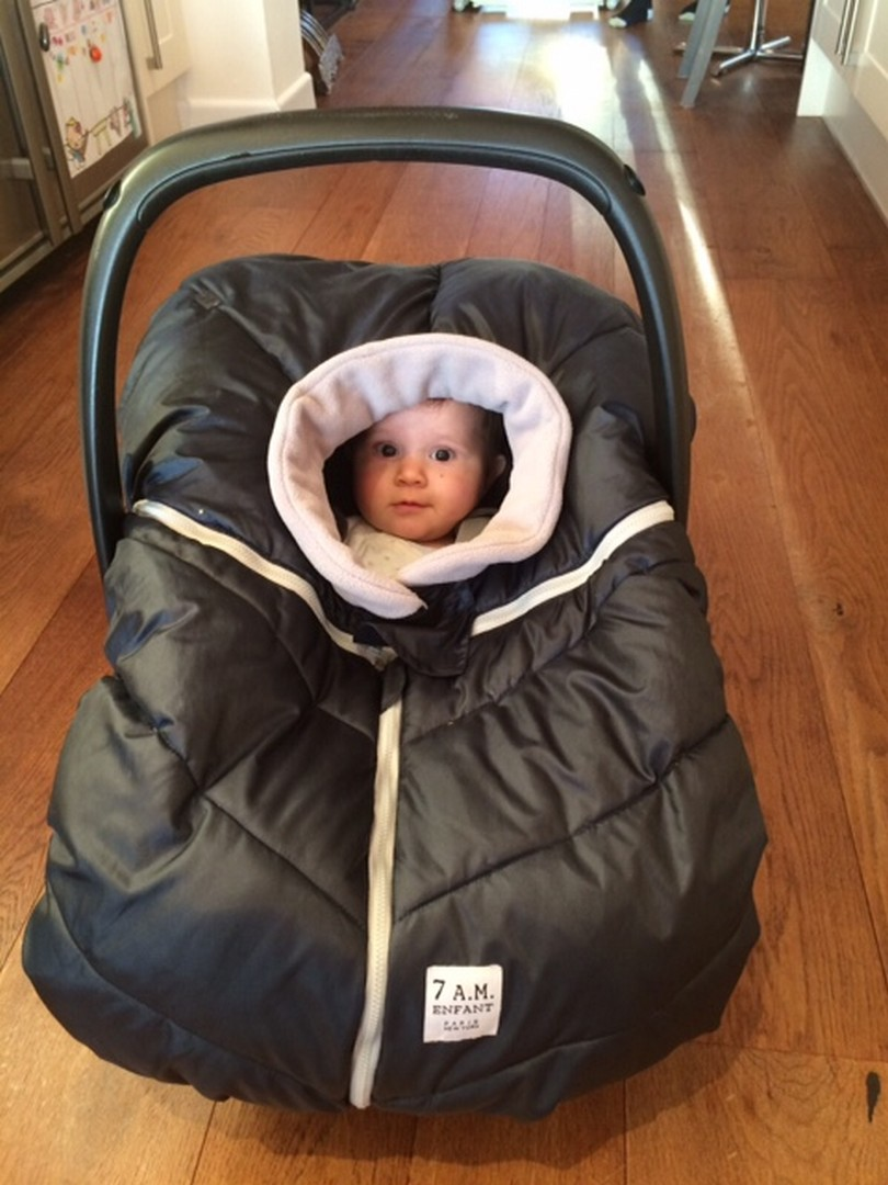 7am Enfant Car Seat Cocoon Face Opening