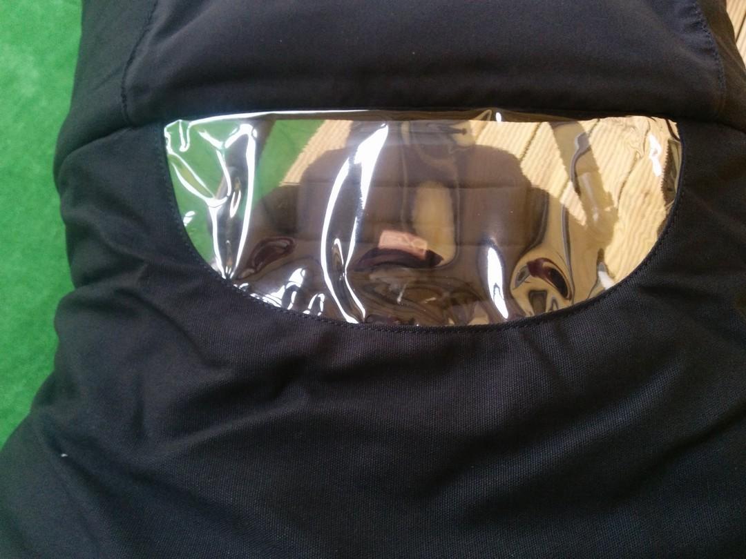 The Magnetic peek-a-boo window open