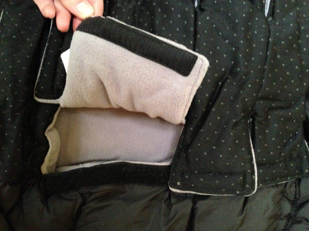 7am Enfant Blanket 212 Evolution - Velcro slots for harness