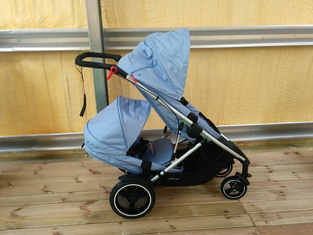 Phil & Teds Voyager Pushchair double kit