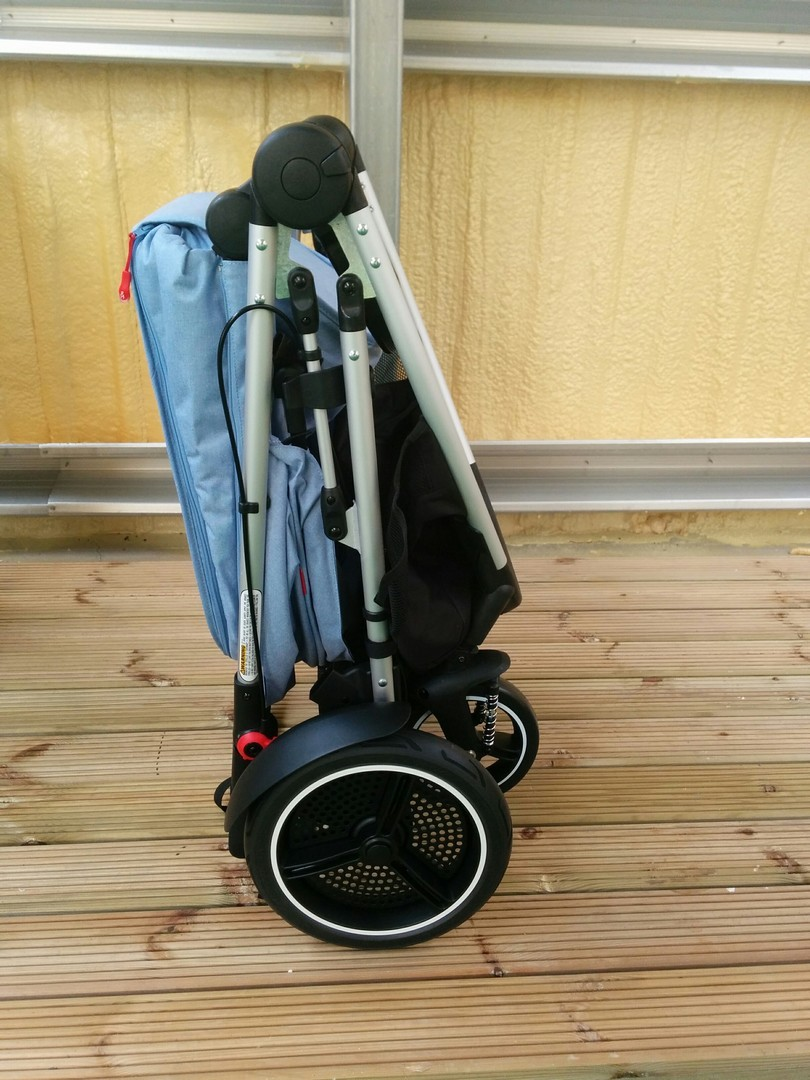 Phil & Teds Voyager Pushchair Folded