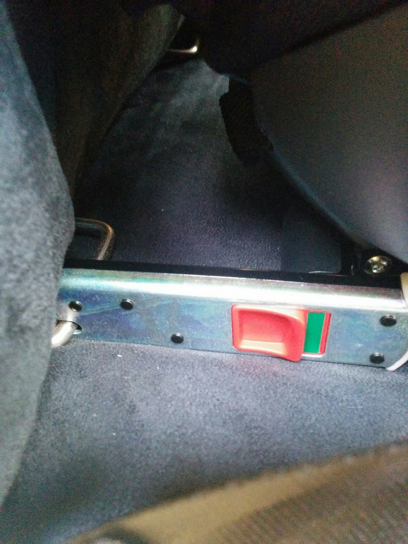 Cybex Solution M-Fix Car Seat ISOfix Arrms Correctly Installed