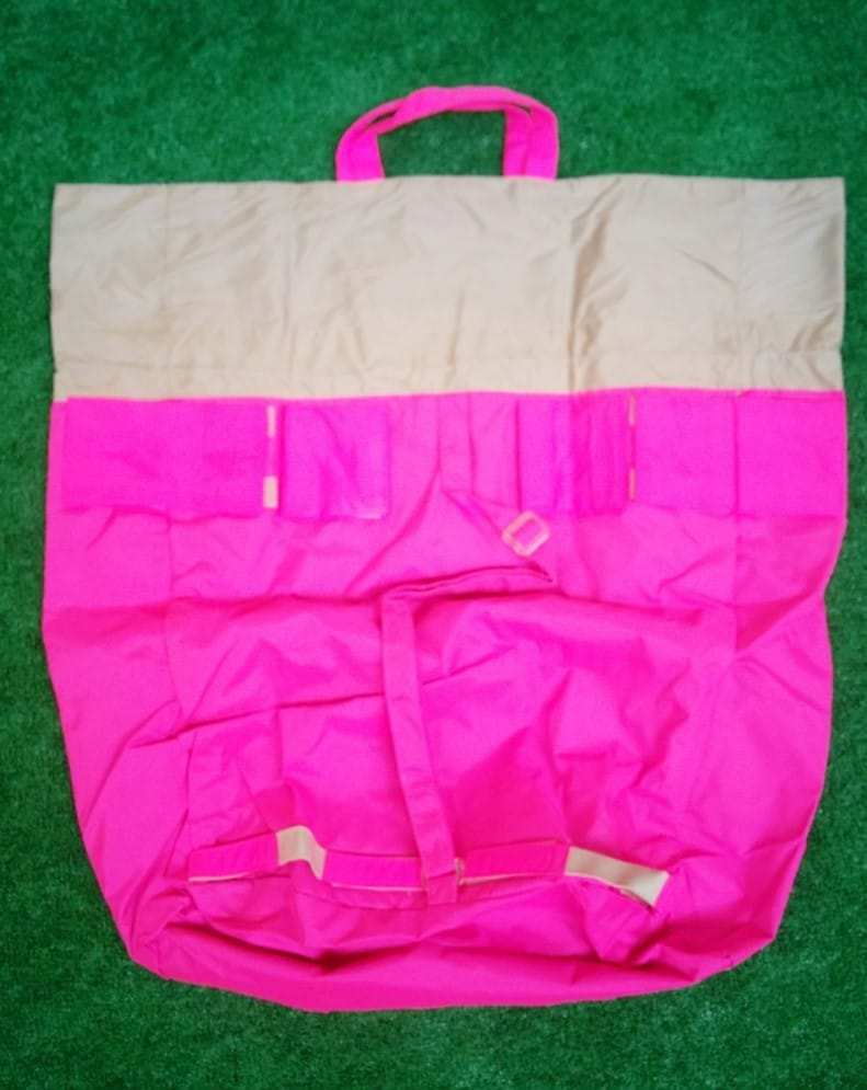 7AM Enfant Hamper Bag Unfolded