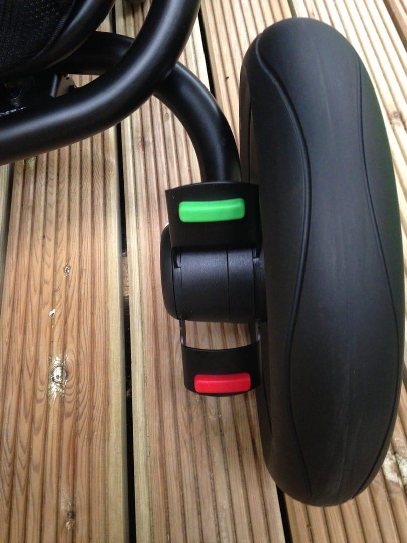 Britax Affinity 2 Pushchair brake pedal