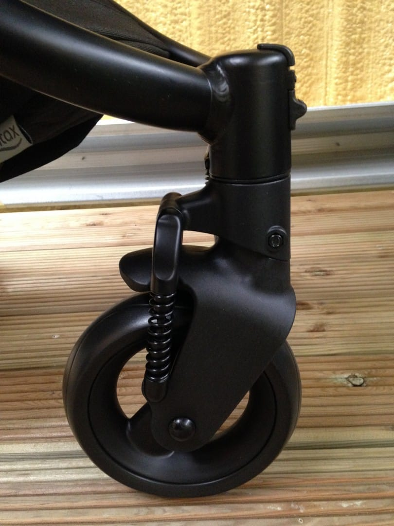 Britax Affinity 2 Pushchair front wheels