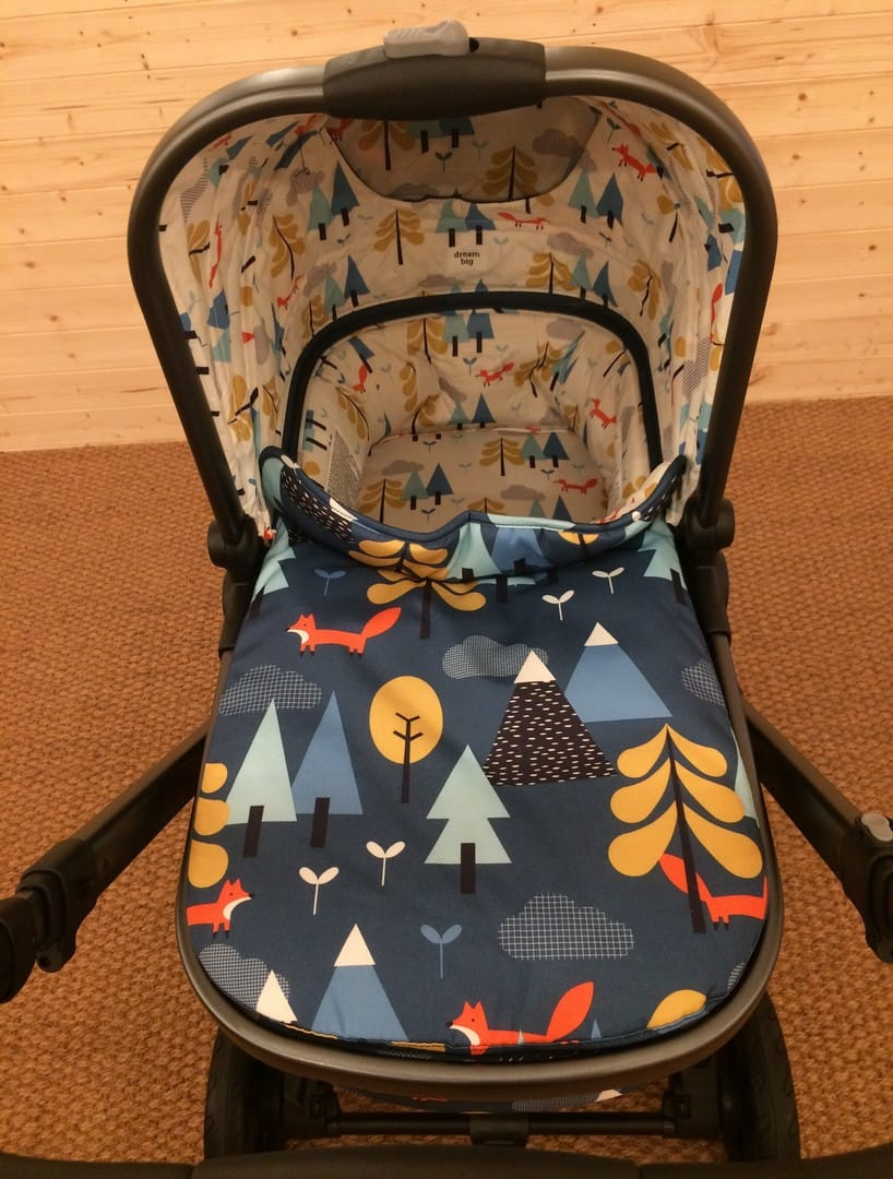 Parent's view of the Cosatto Wow carrycot