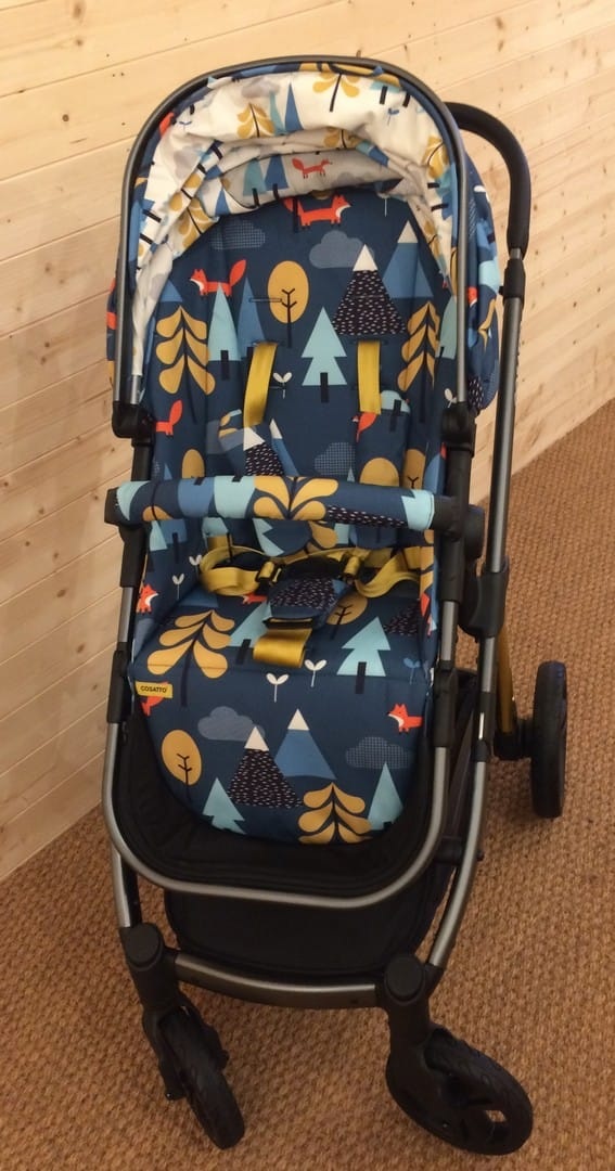 Cosatto Wow Pushchair with seat unit