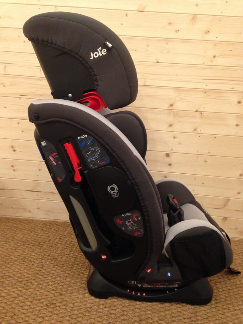 Joie Every Stage 0+/1/2/3 Car Seat Coloured Seat Belt Guides